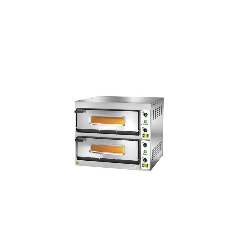 FORNO ELETTRICO FES4+4 INOX 3PH 230V