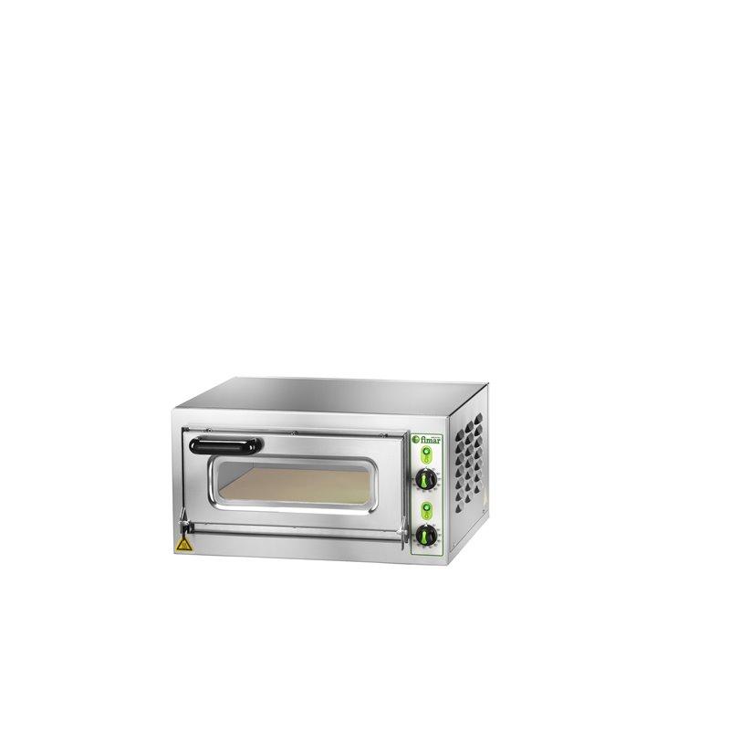 FORNO ELETTRICO MICROV1C INOX VETRO 1PH 200V